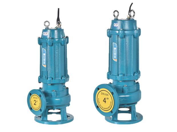 搅匀式污水污物潜水电泵